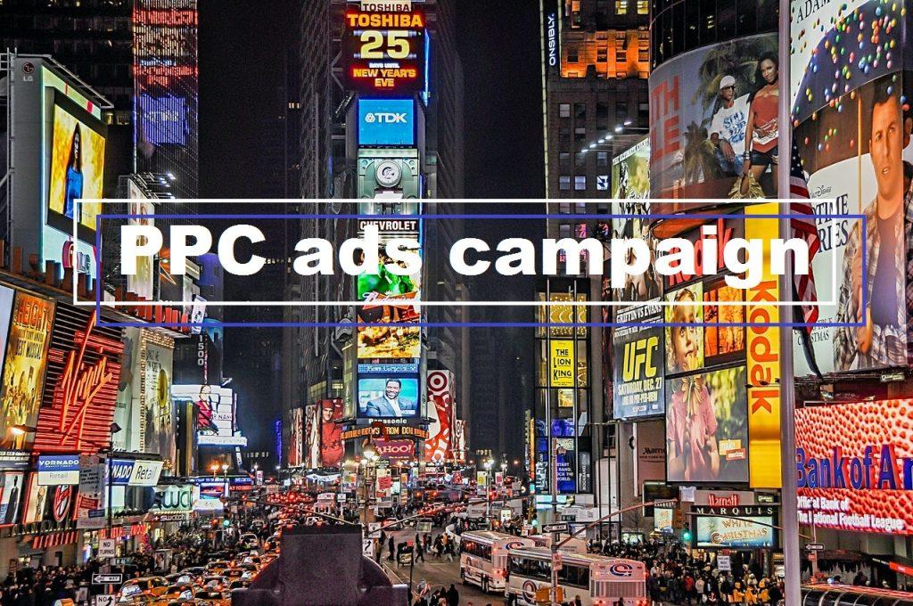 PPC ads campaign