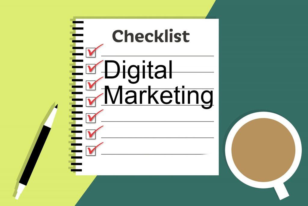 Checklist Digital Marketing Agency