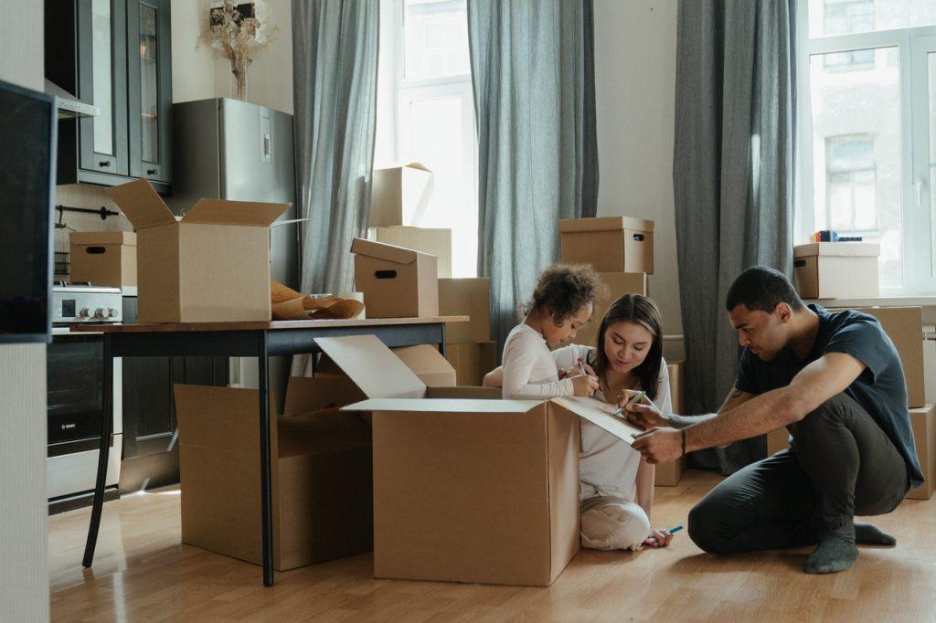 home shifting process
